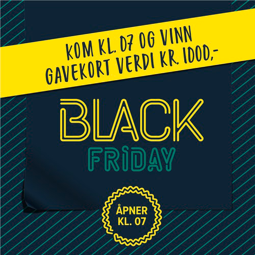 Black Friday Kom Kl.07 Og Vinn 500X500